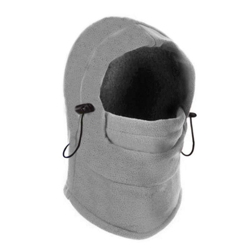 2019 унисекс Ветрозащитная Балаклава Лыжная маска для лица из флиса Зимняя шапка с капюшоном