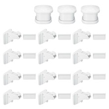 30 Pcs netic Cabinet Drawer Cupboard Lock Kids Baby Safe Child Proof Kit(China)
