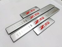 Car Styling Accessories For 2017 2018 Mg Zs Door Sill Scuff Pedal Cover Stainless Steel Protector Guard Trim Sticker Strip 4pcs