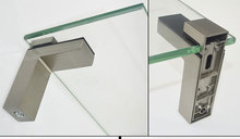 2pcs Rectangle Glass Clamp Adjustable Shelf Holder Bracket Glass Wood Shelves High Quality for 3-28mm thick glass 4pcs 10 12mm aluminum space square clamp holder bracket clip for glass shelf handrails