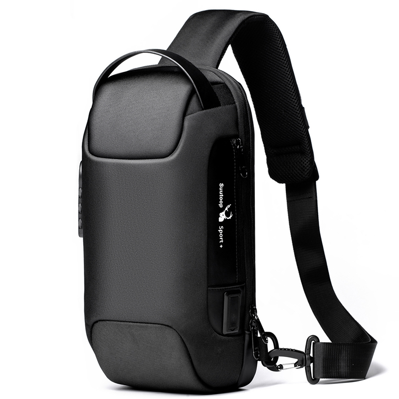 2020 hommes imperméable Oxford multifonction sac à bandoulière Anti-vol sacs à bandoulière court voyage messager poitrine sac Pack pour homme