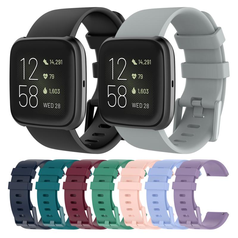 Smart Wrist Versa2 Bracelet Wristband Silicone Connector Belt For Fitbit Versa 2 Strap Band Replacement Parts Fit Bit Versa Lite
