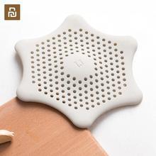 Youpin jordan & judy silicone filtro sundries limpeza forte adsorção fácil de limpar fino ilhó silicone filtro