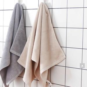 Image 2 - Asciugamano antibatterico originale Youpin ZSH in fibra di cotone asciugamani assorbenti 4 colori 34*72cm asciugamano da bagno viso morbido uso familiare