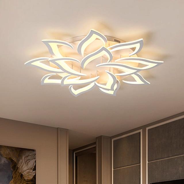 Современные светодиодные потолочные лампы, светильники для столовой, гостиной, украшения дома, лампа для спальни, ресторана, Диммируемый блеск