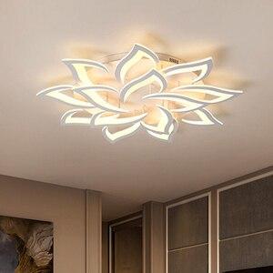Image 1 - Luminárias modernas de teto com led, sala de jantar, decoração de casa, para quarto, restaurante, iluminação, regulável, lustre