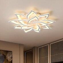 Modern LED tavan ışıkları yemek oturma odası armatürleri ev dekorasyon yatak odası için lamba restoran aydınlatması kısılabilir parlaklık