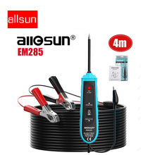 All-sun sonda de energia em285, testador de circuito elétrico de carro, ferramentas automotivas