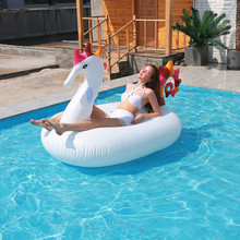 Beach Pool Inflatable Sea Horse Oversized Mount Water Floating Row Swimming Ring Floating Bed Island Adult Air Lounge Chair