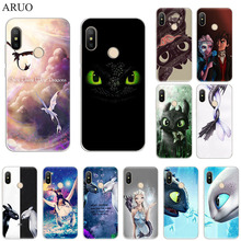 How To Train Your Dragon Soft silicone phone Case For Xiaomi