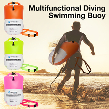 Swimming-Buoy Water-Sports Inflatable Lovers 20L with Dry-Bag Multifunctional Good-Visibility
