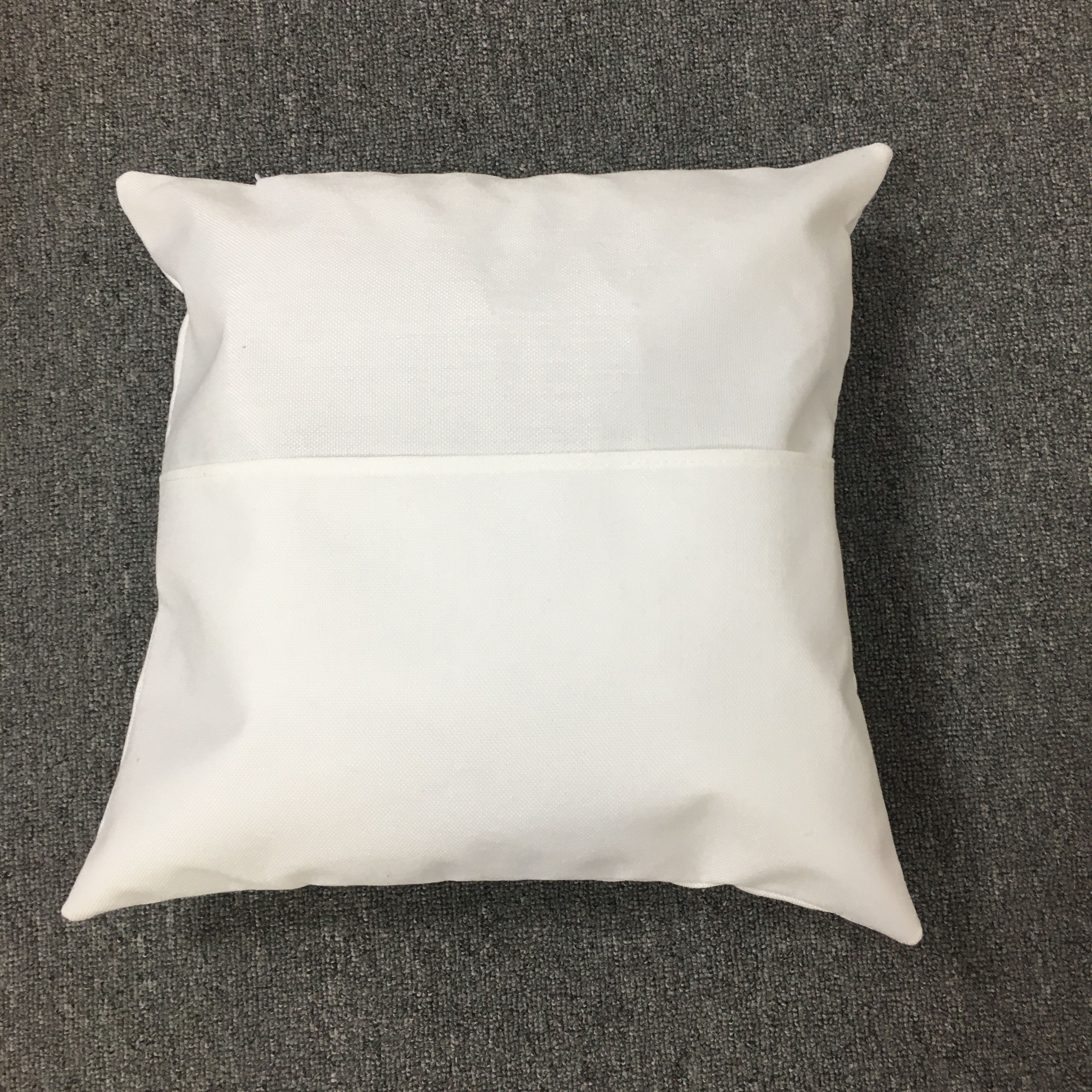 100pcs diy pillowcase with pocket sublimation blank pillow covers linen polyester cushion covers sofa throw pillows decoration