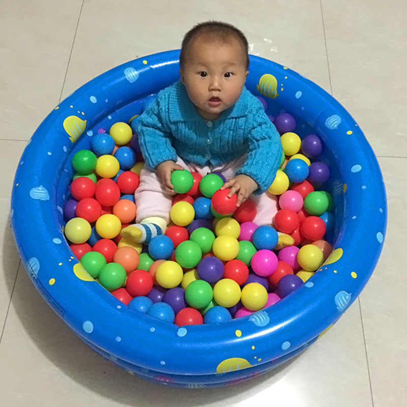 10 Pcs Colorful Play Balls Toy Educational Gift for Children Kids Indoor Playpen Party NSV775