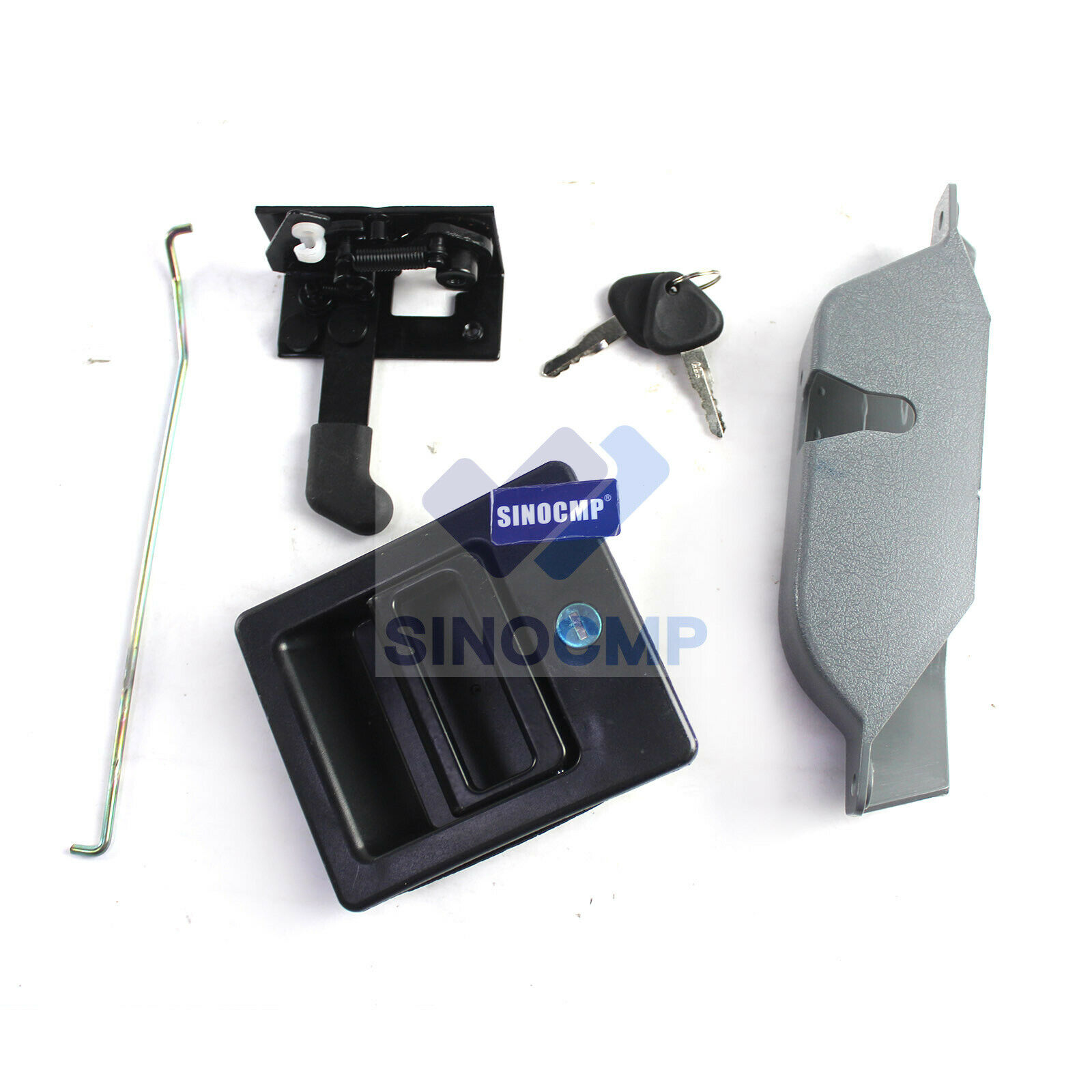 Door Lock Assembly 14506769 14540249 for Volvo Excavator EC210B EC360B, 3 Month Warranty