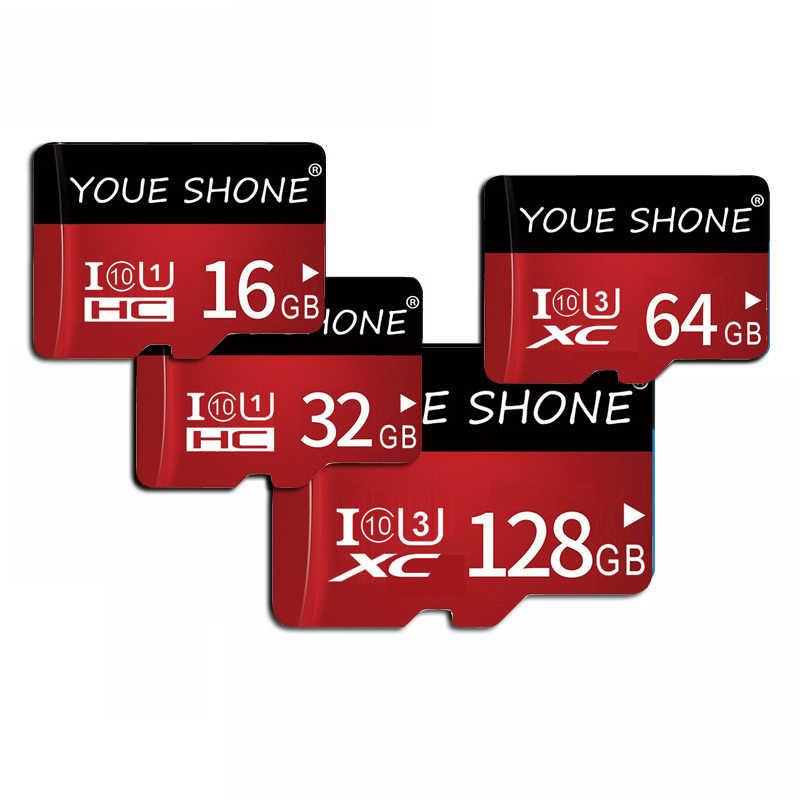 Thẻ Nhớ 128GB 64GB 32GB Micro SD 16GB 8GB Class10 Flash Thẻ Nhớ MicroSD Cho điện Thoại Thông Minh/Máy Tính Bảng Giá Rẻ Tàu