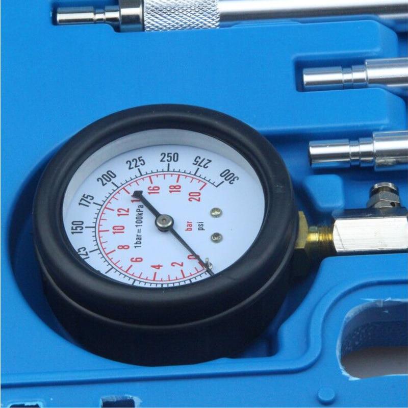 Petrol Gas Engine Cylinder Compressor Gauge Meter Test Pressure Compression Test