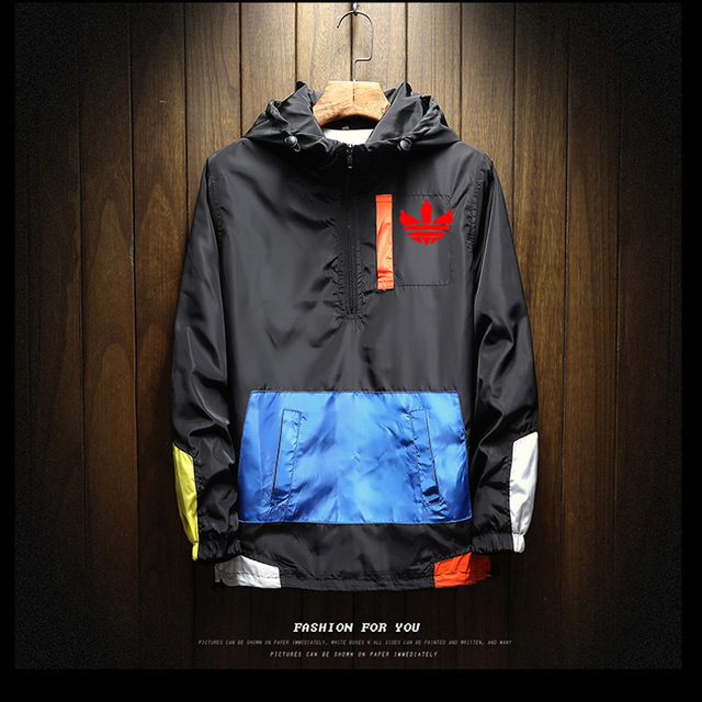 Spring and autumn new men's outdoor waterproof jacket men's hooded jacket jacket Andes brand printing large size 5XL jacket