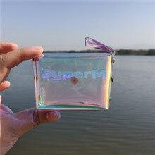 Coin Purse Album Laser Mini KPOP Mark-Fh5 Make-Up-Bag TEN KAI LUCAS BAEKHYUN TAEMIN TAETONG
