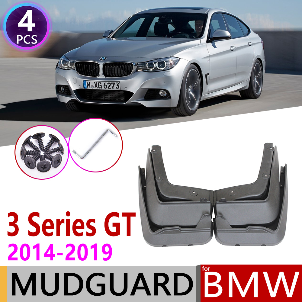 Mudflap for <font><b>BMW</b></font> <font><b>3</b></font> <font><b>Series</b></font> Gran Turismo <font><b>GT</b></font> 2014~2019 F34 Fender Mud Guard Splash Flaps Mudguards Accessories 2015 2016 320i 330i image