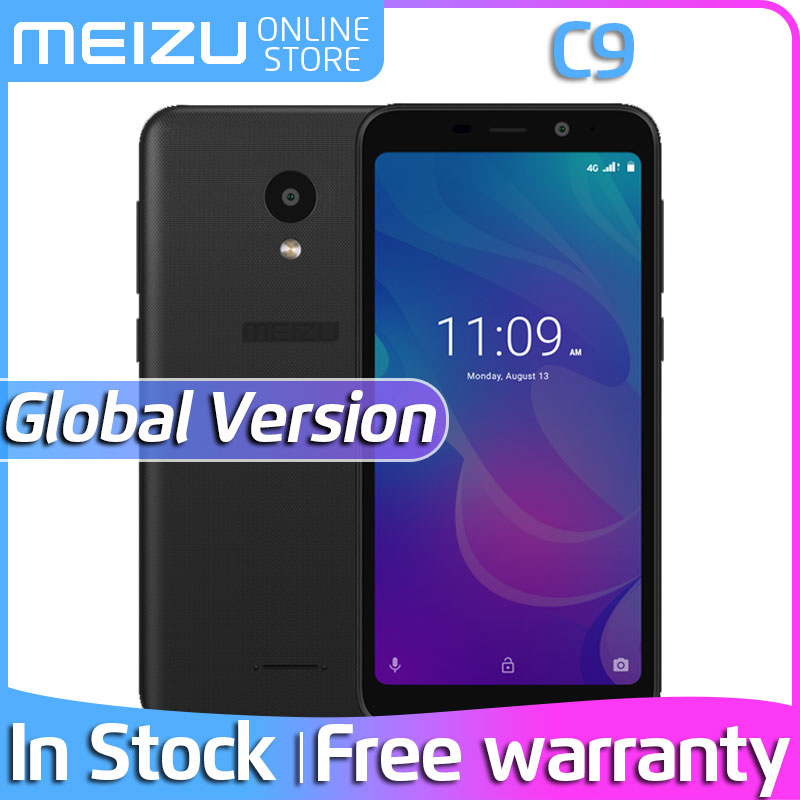 Official Global Version Meizu C9 2GB 16GB Mobile Phone Quad Core 5.45 inch 1440X720P Front 8MP Rear 13MP Camera 3000mAh Battery(China)