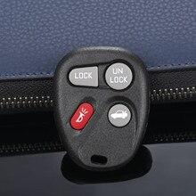 AB00204T araba yedek 4 düğme anahtarsız uzaktan anahtar Shell kılıf Fob Fit Buick LeSabre için yüzyıl Regal Pontiac Chevrolet kobalt