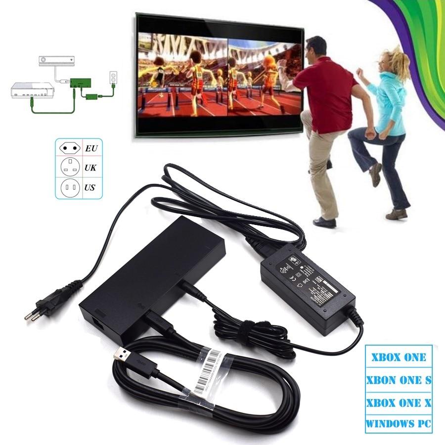 2018 новая версия Kinect 2,0 сенсорный адаптер переменного тока источник питания для Xbox one S / X / Windows ПК, для XBOX ONE Slim/X Kinect адаптер