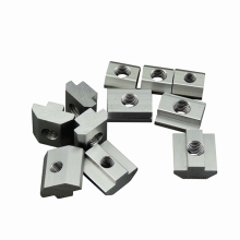 T Block square nuts M3 M4 M5 M6 M8 Slot t nut Sliding hammer nut for 2020 3030 cnc router machine Aluminum profile fasten nuts