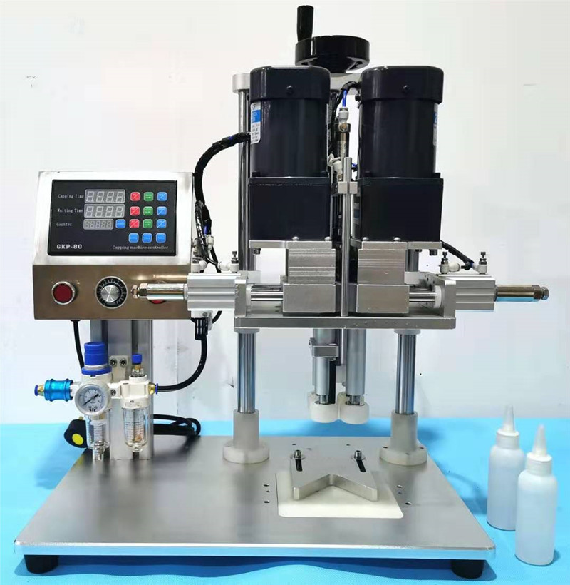 2019 New Semi-auto Electric Spray Capper+capping Machine+multifuncional Bottle Capper With 18-70mm Cap Size