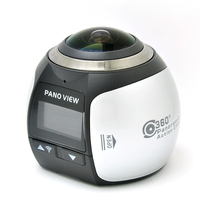 360 Degree Camera VR 4K Wifi Video Mini Panoramic HD Panorama Action 30m Waterproof Sports Driving Camera