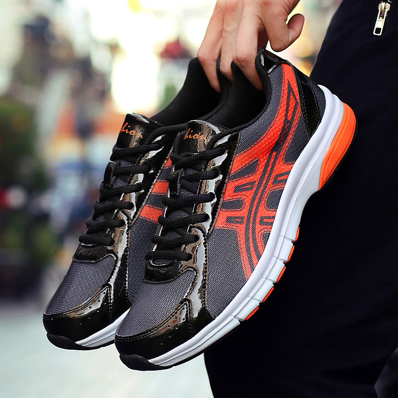 2019 Sneakers Men Breathable mesh Running Shoes Men tennis Breathe Sport Shoes outdoor trekking Jogging camping Chaussure Homme|Running Shoes| |  - title=