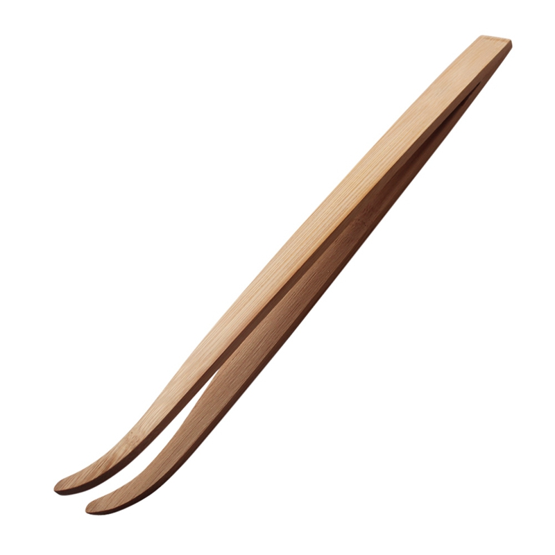 Angled Tweezers Feeding Forceps Reptile  Feeding Tongs Reptile Terrarium Feeding Tool Eco-friendly Bamboo