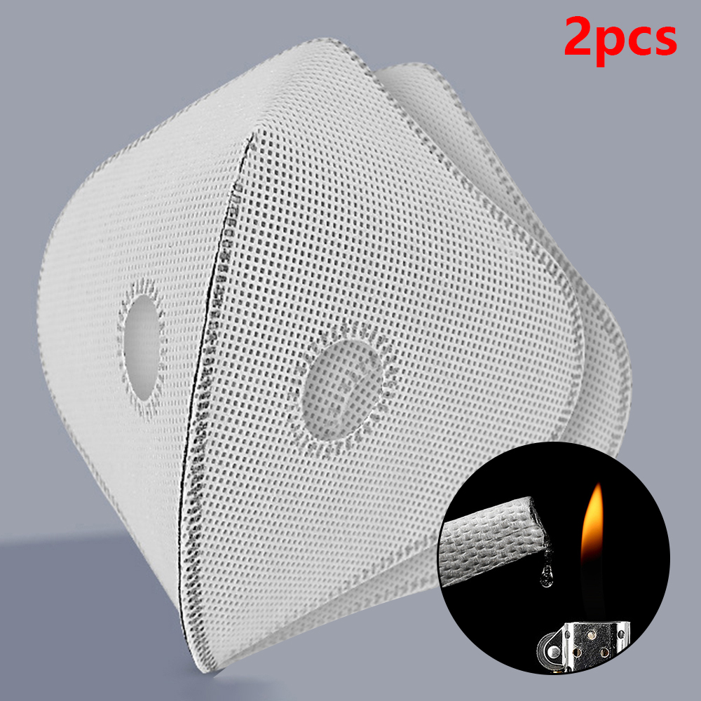 2PCS 5-layer Meltblown Non-woven Fabric Spacer Replacement Filter For Face Cover PM 2.5 Wide Applications