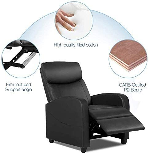 Single Sofa Home Theater Seating Chair 2