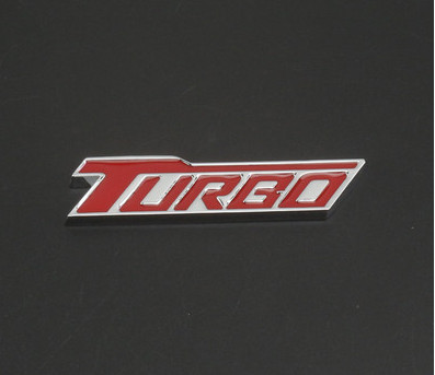 TURBO G Sticker Race Universal Auto Car Metal Stylish 3D Logo Emblem Badge Decal