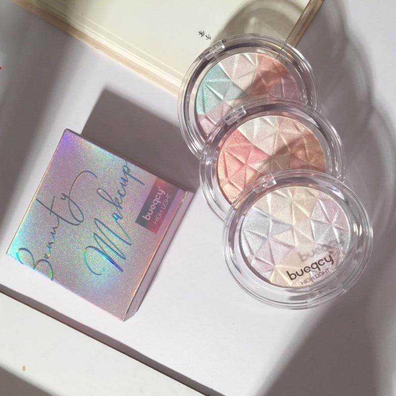 Diamond Highlighter Powder Facial Palette Makeup Glow Kit Face Contour Shimmer Base Illuminator Highlight Cosmetics
