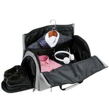 Bolsas de viaje grandes para hombre, bolsa de lona plegable, bolsas de fin de semana de negocios, traje Oxford, funda protectora para mujer, bolsa de viaje, bolso organizador