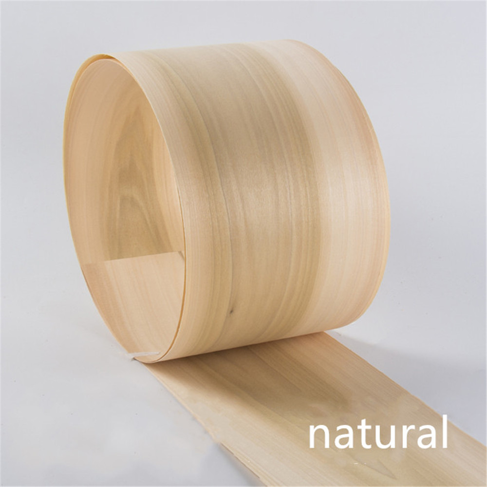 2x Natural Genuine Buxus Sinica Wood Veneer Dural Color Furniture Veneer About 15cm X 2.5m 0.4mm Thick C/C