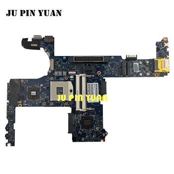 JU PIN YUAN 642754-001 6050A2398501-MB-A02 For HP EliteBook 8460P 6460B Laptop Motherboard All functions fully Tested