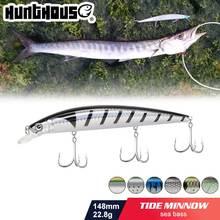 Hunthouse приманка для рыбной ловли тонкая в форме гольяна плавающая