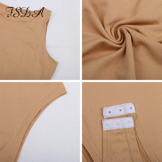 Sleeveless Khaki Bodysuit 6