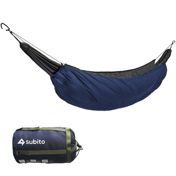 Portable Hammock Underquilt Hammock Thermal Under Blanket Hammock Insulation Accessory Outddor Camping Sleeping Bag for Camping 2