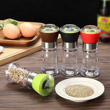 Kitchen Tool Salt Pepper Grinder Spice Peppercorns Muller Hand Mill Grinding Grinder convenient modern stainless steel acrylic pepper spice sea salt mill grinder muller silver