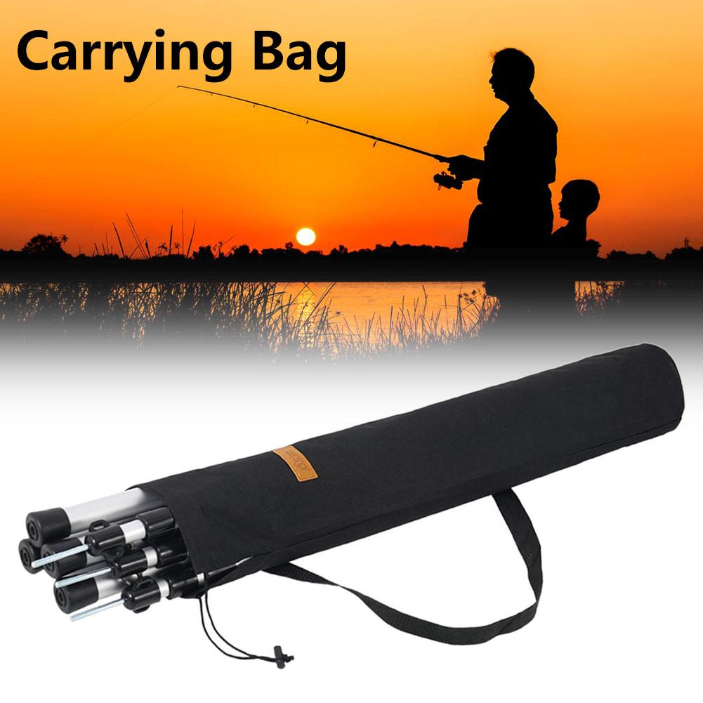 Outdoor Camping Storage Bag Large Canopy Pole Storage Pouch Fishing Rod Portable Oxford Cloth Storage Tote Fishing Bags Sports & Entertainment - title=