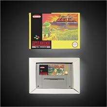 BS أسطورة Zeldaed ريمكس (خريطة 1 وخريطة 2)   EUR نسخة آر بي جي بطاقة الألعاب توفير البطارية مع صندوق البيع بالتجزئة