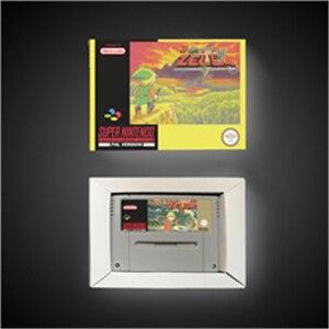 Image 1 - BS Zeldaed remix의 전설 (지도 1 & 지도 2)   EUR 버전 RPG 게임 카드 배터리 저장 상자