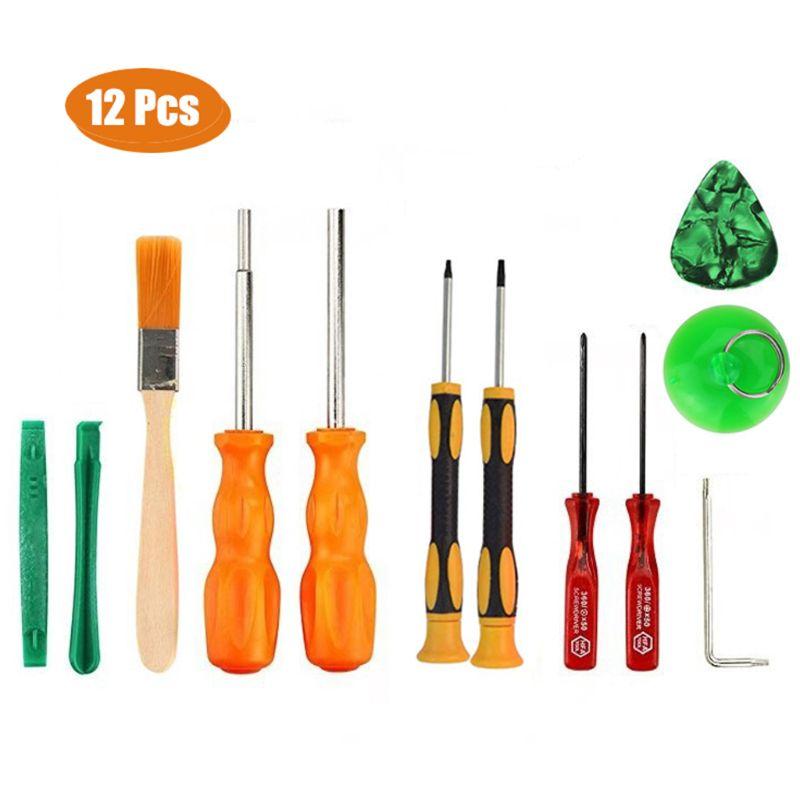 12 in 1Triwing Screwdriver Set Durable Screwdriver Tool Full Triwing Screwdriver Repair Kit GameBit Tool Kit for Nintendo Switch
