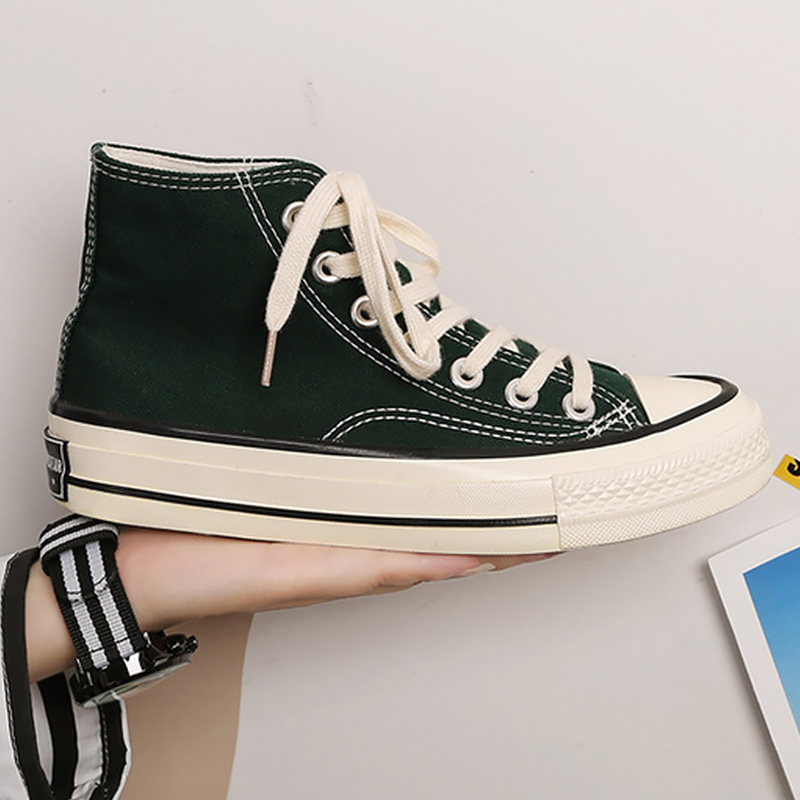 Stunner Womens Lace High-top Sneakers Canvas Shoes
