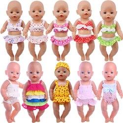 2 шт./комплект, кукольная одежда, аксессуары для американской куклы 16-18 дюймов, 43 см, куклы для новорожденных Nenuco, нашего поколения