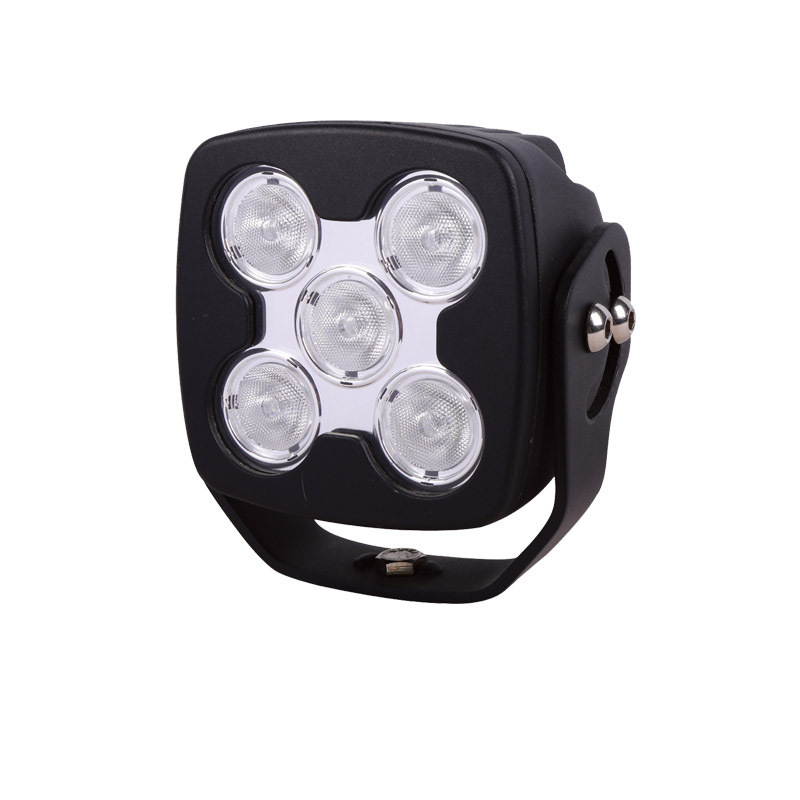 Inches Square 50 W High-power LED Work Light Car Headlamps Off-road Vehicles Refitted Light Suffused With Light Spot
