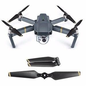 Image 2 - 4/8 PCS 8330F สำหรับ DJI Mavic Pro ใบพัดใบมีด CCW/CW คาร์บอนไฟเบอร์คอมโพสิต Low Noise ฐาน Wing drone อะไหล่